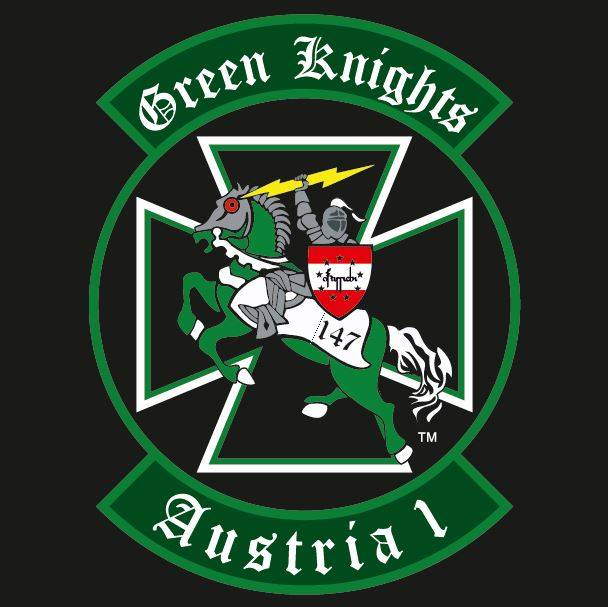 Logo des Green Knights Chapters 147 Austria 1